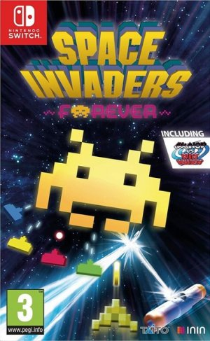 Cover Space Invaders Forever