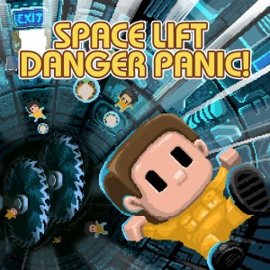 Cover Space Lift Danger Panic!