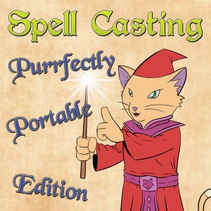 Cover Spell Casting: Purrfectly Portable Edition