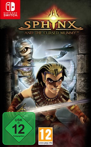 Cover Sphinx and the Cursed Mummy