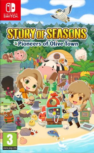 Cover Story of Seasons: Pioneers of Olive Town