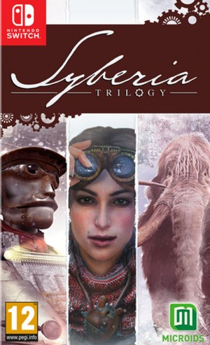 Cover Syberia Trilogy (Nintendo Switch)