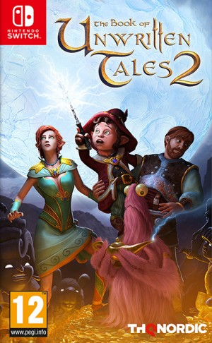 Cover The Book of Unwritten Tales 2