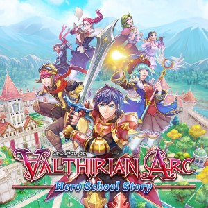 Cover Valthirian Arc: Hero School Story