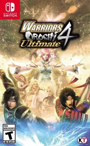 Cover Warriors Orochi 4 Ultimate