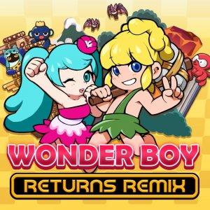 Cover Wonder Boy Returns Remix (Nintendo Switch)