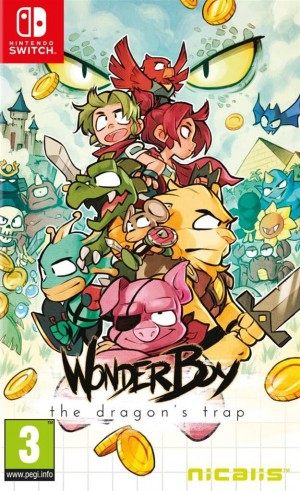 Cover Wonder Boy: The Dragon's Trap (Nintendo Switch)