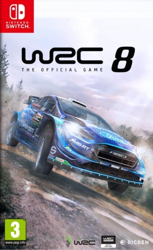 Cover WRC 8 FIA World Rally Championship (Nintendo Switch)