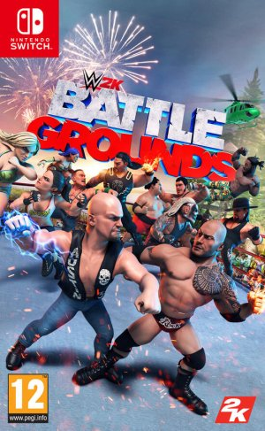 Cover WWE 2K Battlegrounds