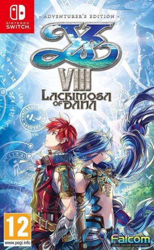 Cover Ys VIII: Lacrimosa of DANA
