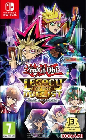 Cover Yu-Gi-Oh! Legacy of the Duelist: Link Evolution!
