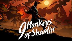 Cover 9 Monkeys of Shaolin