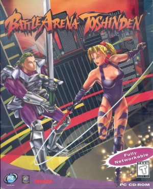 Cover Battle Arena Toshinden