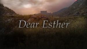 Cover Dear Esther