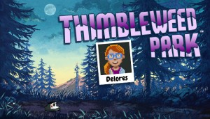 Cover Delores: A Thimbleweed Park Mini-Adventure