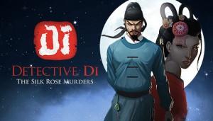 Cover Detective Di: The Silk Rose Murders