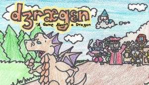 Cover DRAGON: A Game About a Dragon