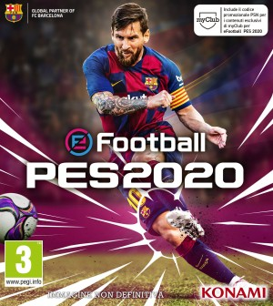 Cover eFootball PES 2020 (PC)