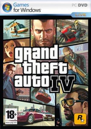 Cover Grand Theft Auto IV