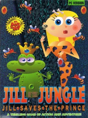 Cover Jill of the Jungle: Jill Saves the Prince