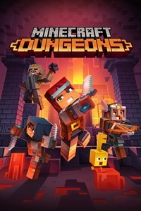 Cover Minecraft Dungeons