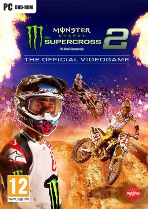 Cover Monster Energy Supercross - The Official Videogame 2