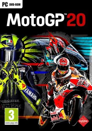 Cover MotoGP 20 (PC)
