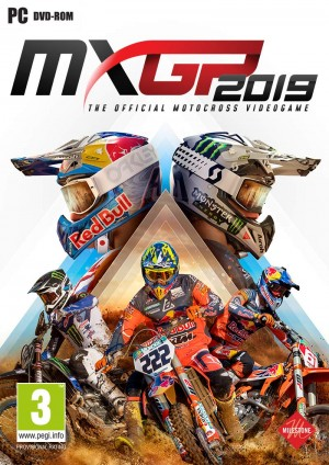 Cover MXGP 2019 - The Official Motocross Videogame (PC)