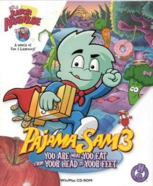 Cover Pajama Sam 3: You are What You Eat from Your Head to Your Feet