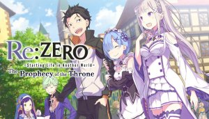 Cover Re:ZERO - Starting Life in Another World: The Prophecy of the Throne (PC)