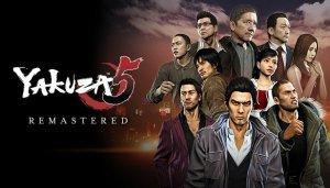 Cover Yakuza 5 Remastered