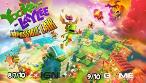 Cover Yooka-Laylee and the Impossible Lair (PC)