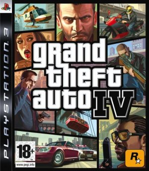 Cover Grand Theft Auto IV (PS3)