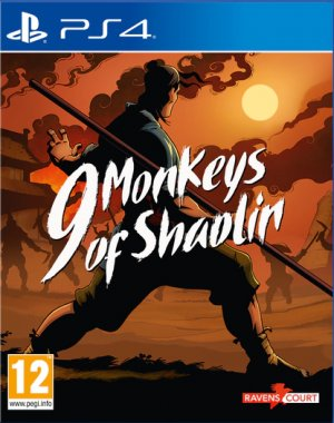 Cover 9 Monkeys of Shaolin (PS4)