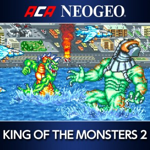 Cover ACA NeoGeo: King of the Monsters 2 (PS4)