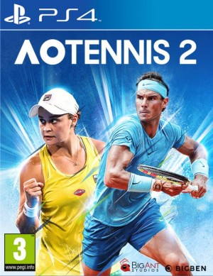 Cover AO Tennis 2 (PS4)