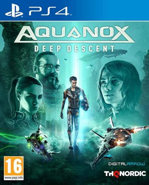 Cover Aquanox Deep Descent