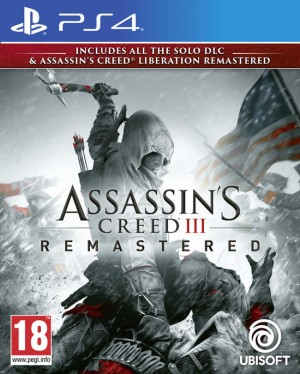 Cover Assassin's Creed III Remastered (PS4)