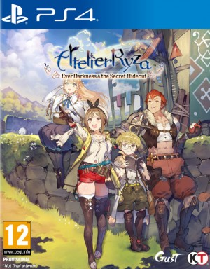 Cover Atelier Ryza: Ever Darkness & the Secret Hideout