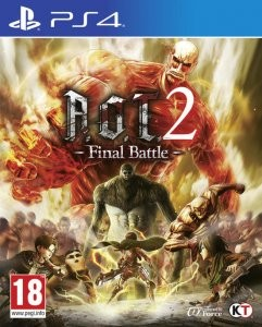 Cover Attack on Titan 2: Final Battle (PS4)