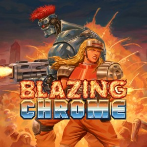 Cover Blazing Chrome (PS4)