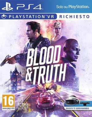 Cover Blood & Truth (PS4)
