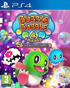Cover Bubble Bobble 4 Friends: The Baron is Back (PS4)