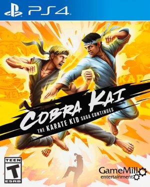 Cover Cobra Kai: The Karate Kid Saga Continues (PS4)