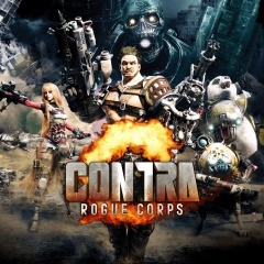 Cover Contra: Rogue Corps (PS4)