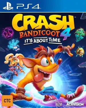 Cover Crash Bandicoot 4: It's About Time (PS4)