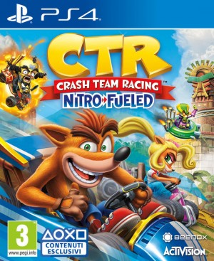 Cover Crash Team Racing Nitro-Fueled (PS4)