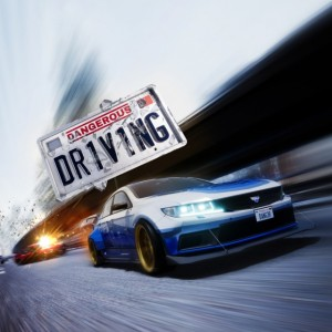 Cover Dangerous Driving (PS4)