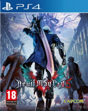 Cover Devil May Cry 5 (PS4)