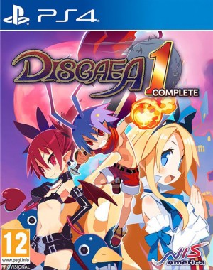 Cover Disgaea 1 Complete (PS4)